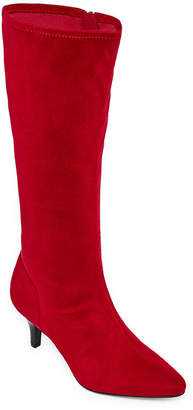 East Fifth east 5th Womens Navassa Dress Boots Stiletto Heel Zip