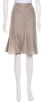 Giorgio Armani Knee-Length Flounced Skirt