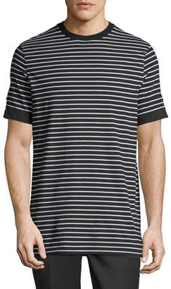 Neil Barrett Breton Striped Roll-Cuff T-Shirt