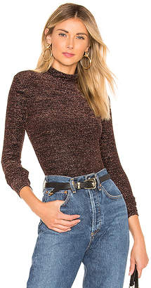 BCBGMAXAZRIA Turtleneck Top