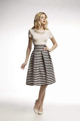 Amalfi by Rangoni RUMOUR LONDON Striped Midi Skirt