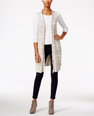Style & Co. Boucle Sweater Vest, Only at Macy's $49.50 thestylecure.com