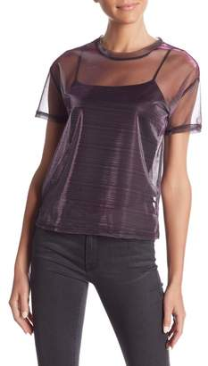 re:named apparel See Me Later Sheer Top