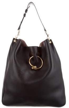 J.W.Anderson Large Pierce Leather Hobo Bag