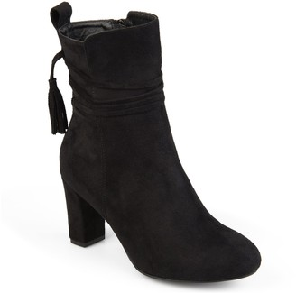 Journee Collection Zuri Women's High Heel Ankle Boots