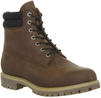 Timberland 6 Inch Double Collar Boots Rawhide Saddleback