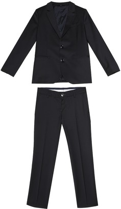 Emporio Armani Kids Wool suit
