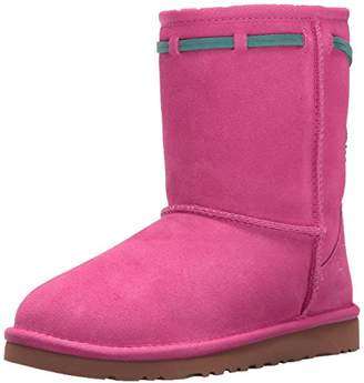 UGG Kids' K Classic Short Carranza Pull-on Boot
