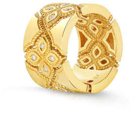 Roberto Coin 18k Venetian Princess Diamond Ring, Size 7