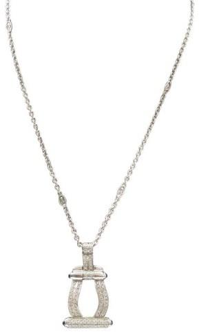 CharriolPhilippe Charriol Diamond Sapphire Pendant Necklace