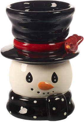 Precious Moments Snow Much Fun Snowman Candle Holder