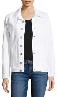 Hudson Emmet Distressed Denim Jacket