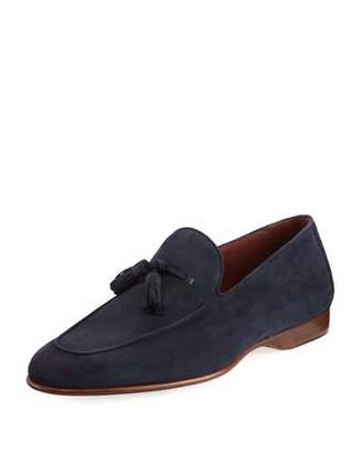 Magnanni for Neiman Marcus Suede Tassel Loafer $395 thestylecure.com