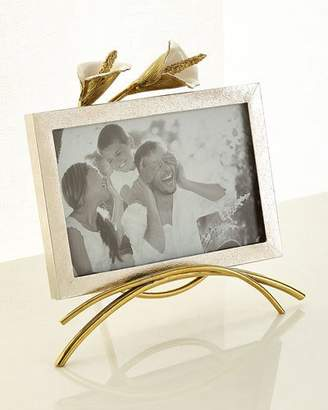 "Michael Aram Calla Lily Easel Picture Frame, 4"" x 6"""