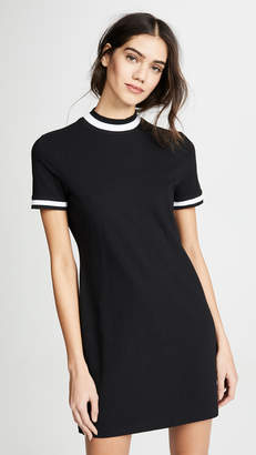 Alexander Wang High Twist Short Sleeve Dress