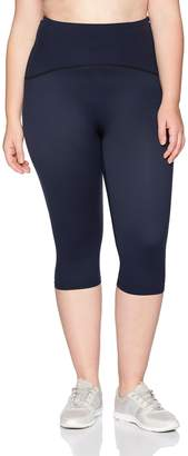 Spanx Women's Plus Size Active Compression Knee Length Leggings