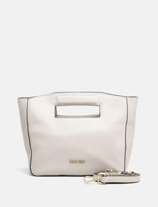 Calvin Klein pebble leather mini tote bag