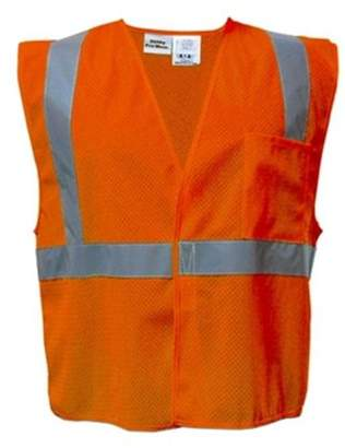 Utility Pro Wear utility pro wear upa472-2x-o high visibility mesh vest in hanger bag class 2 - xxlarge, orange