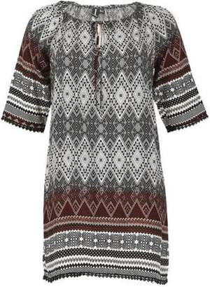 Dorothy Perkins Womens *Izabel London Multi Coloured Tunic Top