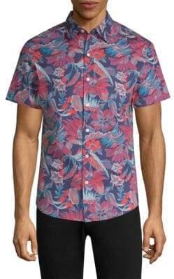 Bonobos Floral Cotton Slim-Fit Button-Down Shirt