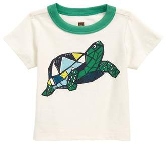 Tea Collection Turtle Power T-Shirt (Baby Boys)