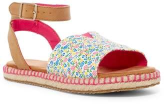 Toms Malea Multi Floral Ankle Strap Sandal (Little Kid & Big Kid)