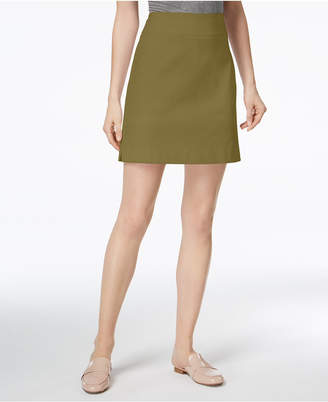 Charter Club Petite Pull-On Skort, Created for Macy's