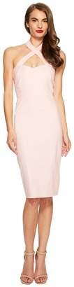 Unique Vintage Crisscross Halter Penelope Wiggle Dress Women's Dress