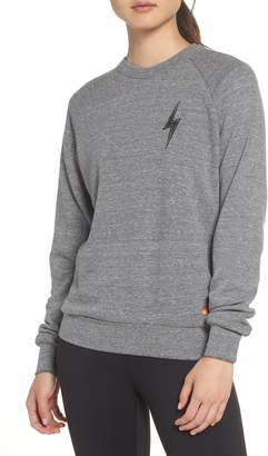 Aviator Nation Bolt Stitch Crew Sweatshirt