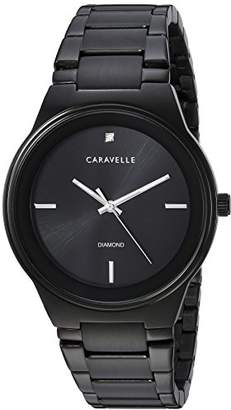 Bulova Caravelle Men's Quartz Stainless Steel Dress Watch