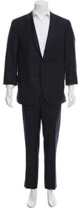 Brunello Cucinelli Wool Glen Plaid Suit