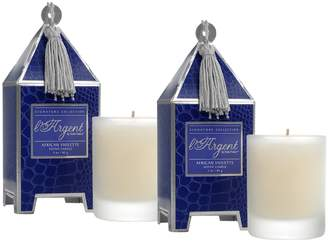 Seda France African Violet Mini Pagoda Candle Gift Set
