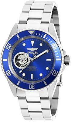 Invicta Men's 'Pro Diver' Stainless Steel Automatic Watch