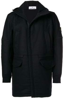 Stone Island hooded parka coat