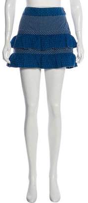 Marc Jacobs Ruffle-Accented Mini Skirt