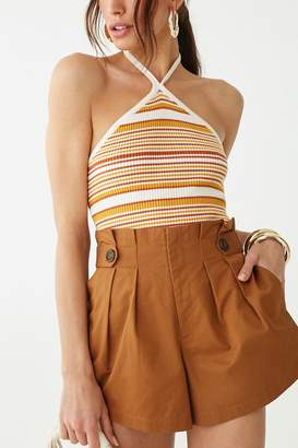 Forever 21 Paperbag Pleat Shorts