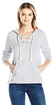 Splendid Women's Lace Up Hoodie