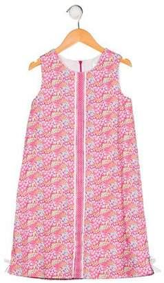 Florence Eiseman Girls' Floral Print Dress