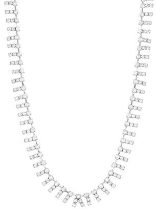 Steve Madden Crystal Glass Necklace