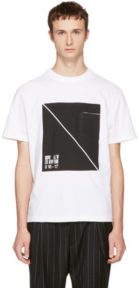 Alexander Wang White Box T-Shirt $150 thestylecure.com