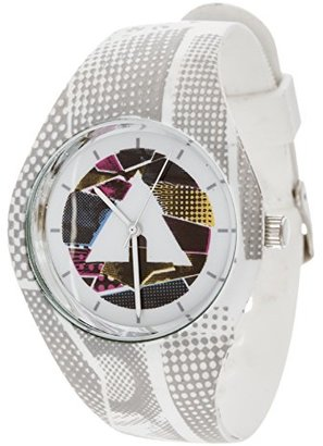 Airwalk クォーツゴムとシリコンCasual Watch , Color : White ( Model : aww-5091-wt )