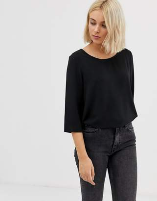 Only Vic 3/4 sleeve top