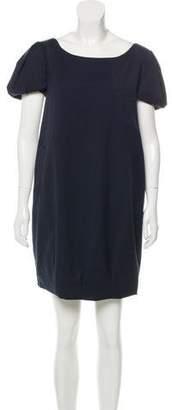 Alexander McQueen Virgin Wool Mini Dress