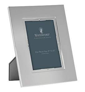Waterford Crystal Lismore Bead Silver Frame 20 x 25Cm