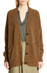 Co Merino Wool Blend Cardigan