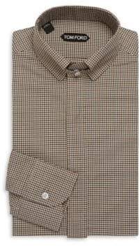 Tom Ford Concealed Cotton Dress Shirt