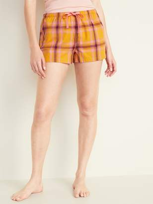 Old Navy Printed Poplin Boxers for Women - 2.5-inch inseam