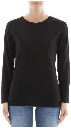 Jo No Fui Black Viscose Sweatshirt