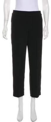 Tory Burch Mid-Rise Straight-Leg Pants