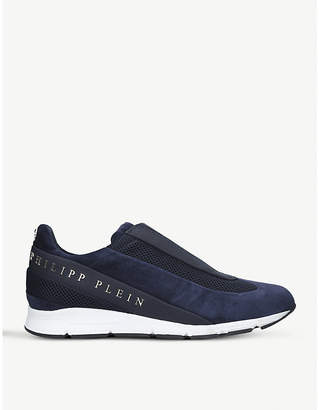 Philipp Plein The Years suede trainers